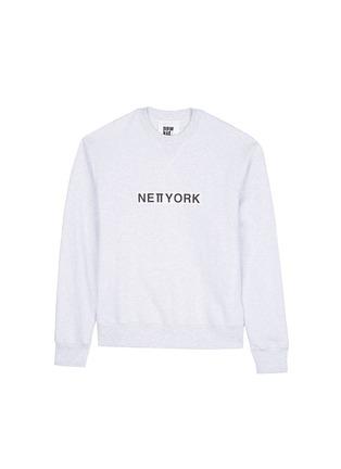 Main View - Click To Enlarge - newkidz - 'Love City New York' print unisex cotton sweatshirt