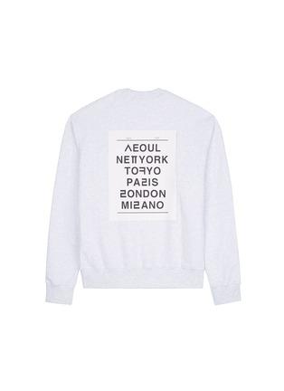 Figure View - Click To Enlarge - newkidz - 'Love City New York' print unisex cotton sweatshirt