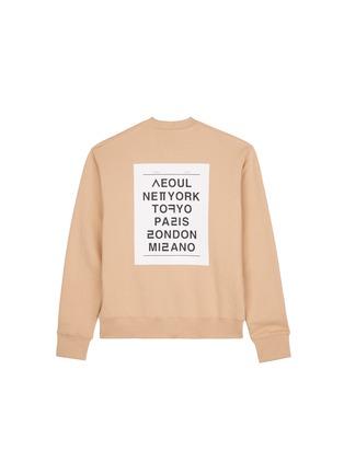 Figure View - Click To Enlarge - newkidz - 'Love City Paris' print unisex cotton sweatshirt