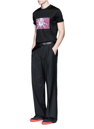Figure View - Click To Enlarge - Lanvin - Spider print T-shirt