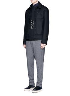 Lanvin'Groovin Spider' embroidered sweatshirt