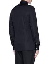 Slim fit bib front tuxedo shirt