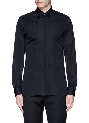 Main View - Click To Enlarge - Lanvin - Slim fit bib front tuxedo shirt