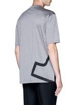 'L' macro logo print T-shirt