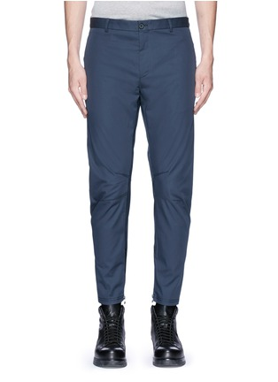 Main View - Click To Enlarge - Lanvin - Slim fit cotton gabardine biker pants
