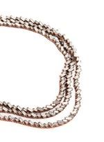 'War of the Roses' Swarovski crystal necklace