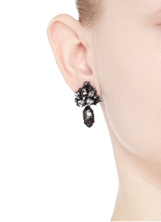 ERICKSON BEAMON 'Young and Innocent' Swarovski crystal drop earrings