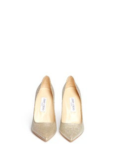 JIMMY CHOO 'Abel' lamé glitter pumps
