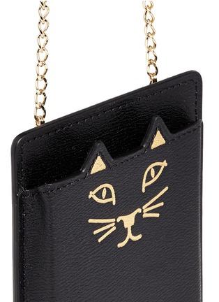细节 - 点击放大 - CHARLOTTE OLYMPIA - 'Feline' leather iPhone 6 case