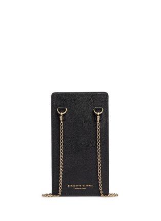 背面 - 点击放大 - CHARLOTTE OLYMPIA - 'Feline' leather iPhone 6 case