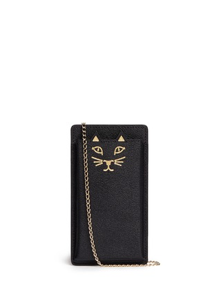 首图 - 点击放大 - CHARLOTTE OLYMPIA - 'Feline' leather iPhone 6 case