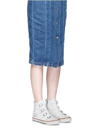 模特儿示范图 - 点击放大 - ASH - 五角星图案纯棉T恤