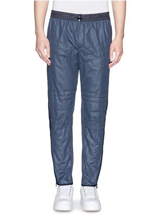 首图 - 点击放大 - MONCLER GRENOBLE - 网眼绗逢尼龙运动长裤