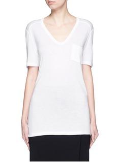 T By Alexander WangRayon jersey T-shirt