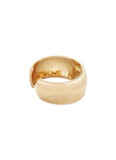 Buccellati Watches 'Cleopatra Losanghe Biz' diamond 18k yellow gold cuff watch