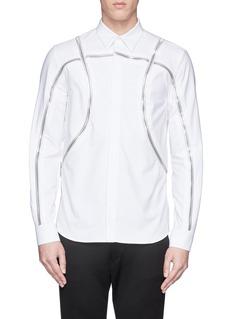 GIVENCHYBasketball zip shirt
