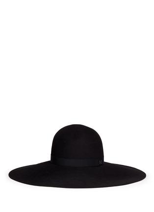 Main View - Click To Enlarge - Maison Michel - 'Blanche' fur felt capeline hat