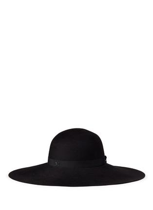 Figure View - Click To Enlarge - Maison Michel - 'Blanche' fur felt capeline hat