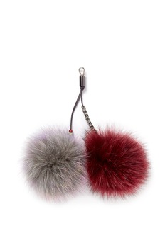 HOCKLEY 'Pixie' fox fur pompom charm
