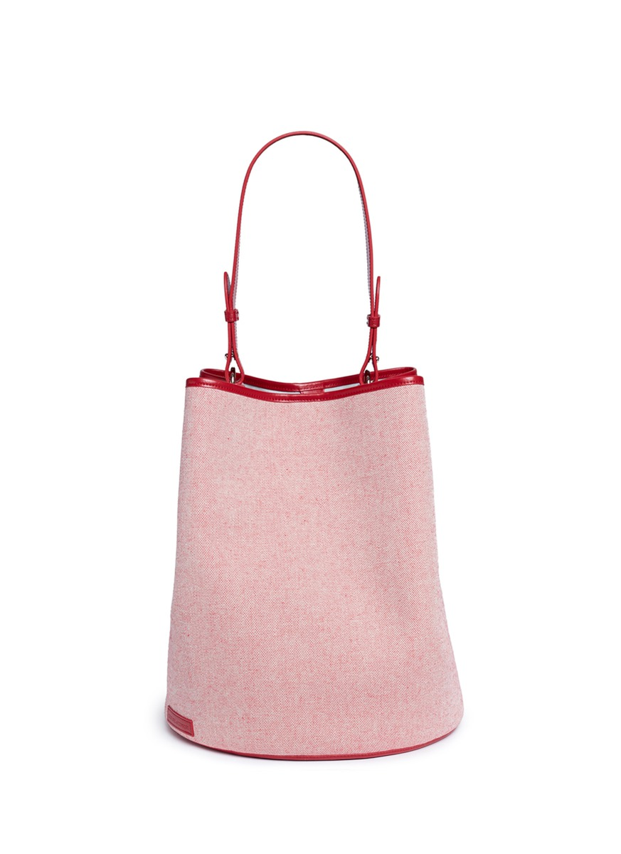 Large canvas bucket bag by Creatures Of Comfort