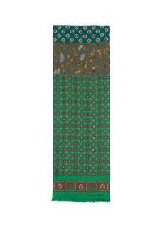 Pierre-Louis MasciaMixed floral print silk scarf