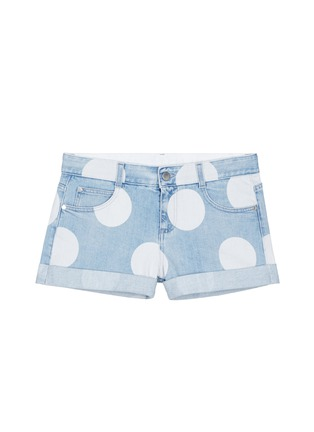Main View - Click To Enlarge - Stella McCartney - Polka dot print denim shorts