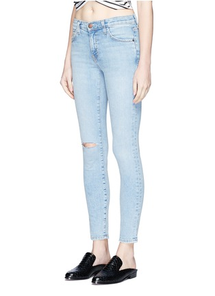Front View - Click To Enlarge - Current/Elliott - 'The Highwaist Stiletto' skinny jeans