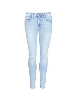 Main View - Click To Enlarge - Current/Elliott - 'The Highwaist Stiletto' skinny jeans