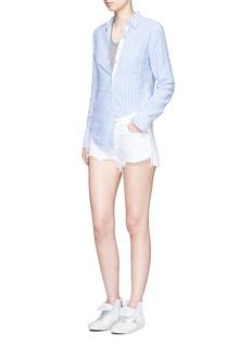 rag & bone/JEAN'Classic' stripe cotton shirt