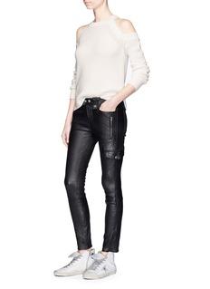 rag & bone/JEAN'Dana' cold shoulder chunky knit sweater