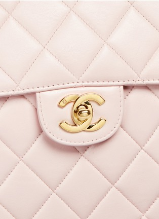 - Vintage Chanel - Jumbo 2.55 quilted leather flap bag