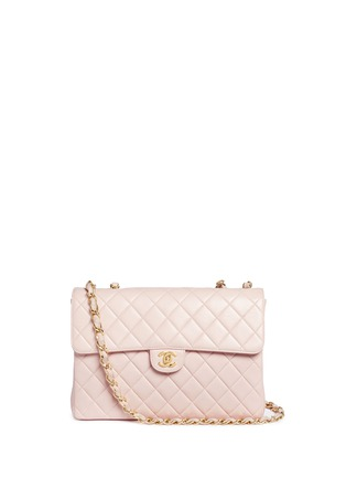 Main View - Click To Enlarge - Vintage Chanel - Jumbo 2.55 quilted leather flap bag
