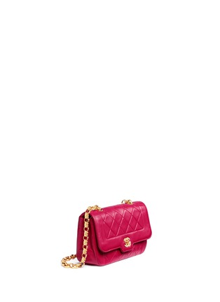 Figure View - Click To Enlarge - Vintage Chanel - Border tab mini quilted leather flap bag