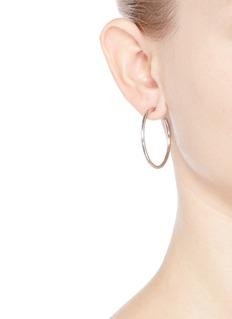 Kenneth Jay LaneCircle hoop earrings