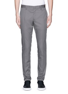 Lanvin Slim fit ribbon stripe chinos