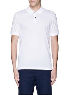 LanvinSlim fit reverse seam polo shirt