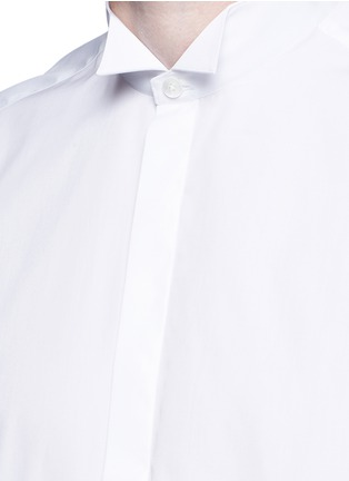 Detail View - Click To Enlarge - Lanvin - Wingtip collar tuxedo shirt