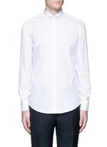 Wingtip collar tuxedo shirt