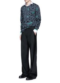 Lanvin'Evolutive' slim fit cotton shirt