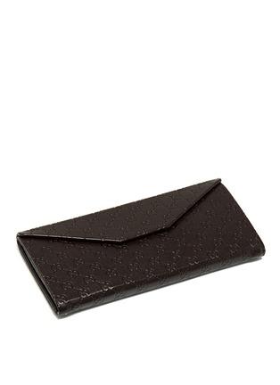 Gucci-Rhinestone pavé tortoiseshell acetate oversize square sunglasses