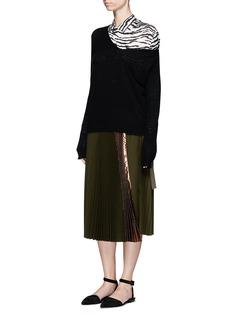 TOGA ARCHIVESLeopard print cupro shirt