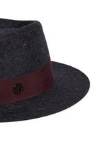 'Andre' rabbit furfelt trilby hat