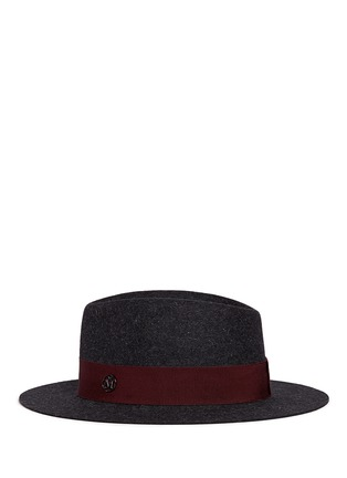 Figure View - Click To Enlarge - Maison Michel - 'Andre' rabbit furfelt trilby hat