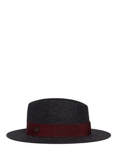 Maison Michel 'Andre' rabbit furfelt trilby hat