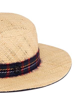 Maison Michel-'Gabriel' round garden straw hat