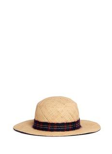 Maison Michel'Gabriel' round garden straw hat
