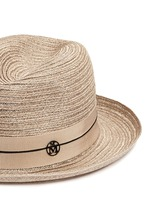 'Joseph' canapa straw fedora hat