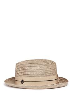 Maison Michel'Joseph' canapa straw fedora hat