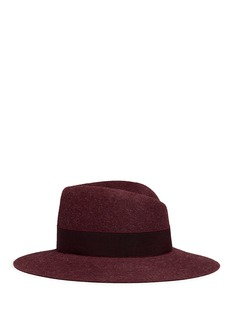 Maison Michel 'Virginie' grosgrain band rabbit furfelt hat