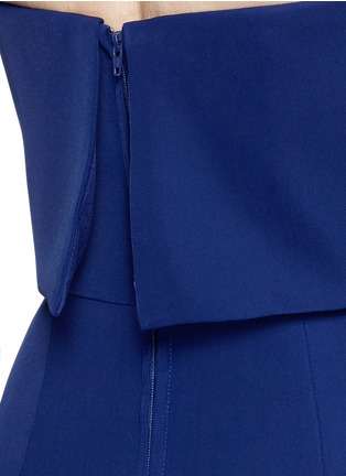 Detail View - Click To Enlarge - C/Meo Collective  - 'Need To Know' drape strapless dress